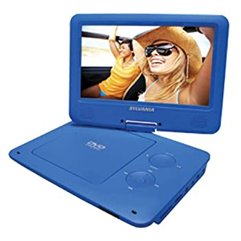 SPINC Sylvania 9-Inch Swivel Screen Portable DVD/CD/MP3 Player with 5 Hour Built-In Rechargeable Battery, USB/SD Card Reader, AC/DC Ad at Sears.com