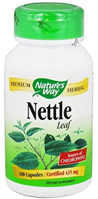 Nature's Way Nettle Herb, Capsules 100ea