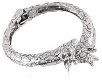 "Lucky Brand Giraffe Hinge Cuff Bracelet, 0.2"" by Lucky Brand"