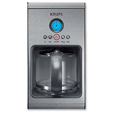 Krups KM1010 Prelude 10-Cup Manual Coffee Maker Black Coffee Maker