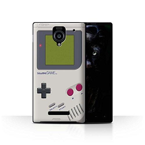 STUFF4 Phone Case / Cover for Sharp Aquos Xx 302SH / Nintendo Game Boy Design / Games Console Collection (Sharp Aquos Nintendo Case compare prices)