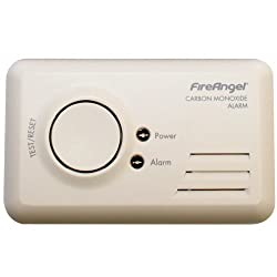 Fireangel Carbon Monoxide Alarm Detector 85db Caravan Motorhome CO-9B by Fire Angel