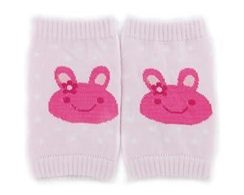BONAMART ® Baby Infant Toddler kneepad Padded Crawling Knee pads Leg Cute Warmer Cute Cartoon Free pattern Pink Rabbit