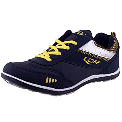 lancer perth 2 s navy blue sports running shoes 10uk