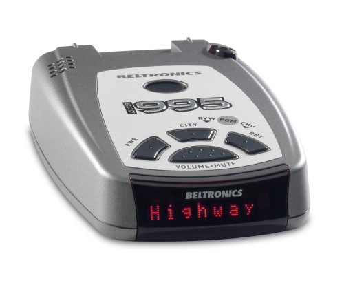 Beltronics V995 Vector Radar and Laser Detector (Black/Silver)