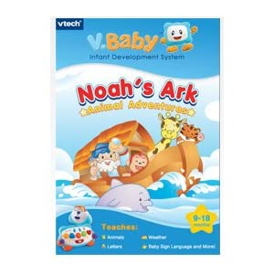 Vtech V.Baby Infant Development System Cartridge Noah's Ark Animal Adventures