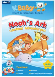 Vtech V.Baby Infant Development System Cartridge Noah's Ark Animal Adventures - 1