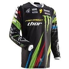 Thor Motocross Phase Pro Circuit Jersey - Medium/Pro Circuit/Black
