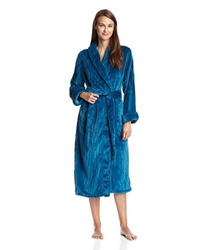 Natori Women's Imperial Sculpted Micro Velour Robe