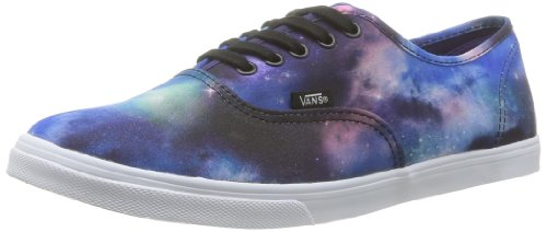 Buy Vans Unisex Authentic Lo Pro (Cosmic Galaxy) Blk TruWht Skate Shoe 7.5  Men US   9 Women US 28ce6be19