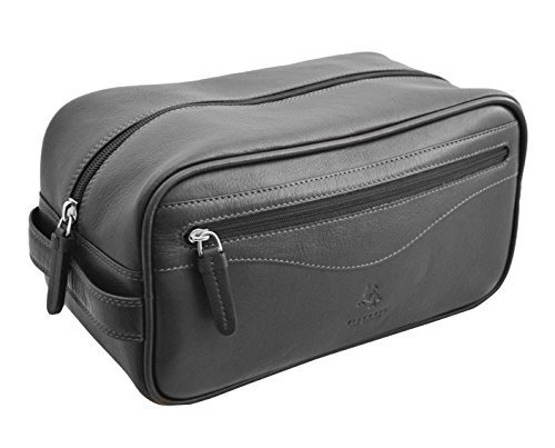 visconti-ht105-leather-toiletry-travel-bag-dopp-kit-black-by-visconti
