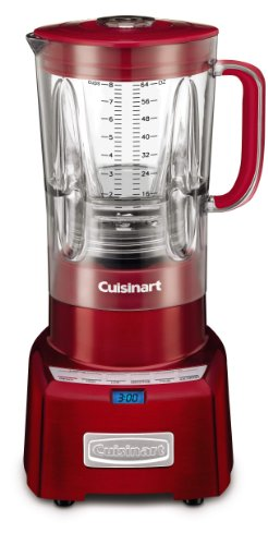 Cuisinart Cbt-1000Mr Poweredge 1.3 Horsepower Blender With Bpa Free Jar, 64-Ounce, Metallic Red