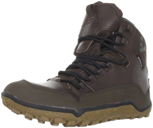 Vivobarefoot Men's Off Road Hi Men Dark Brown Hiking Boot VB220017LDBR 11 UK, 45 EU