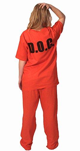 Orange ou Beige Prison pour femme