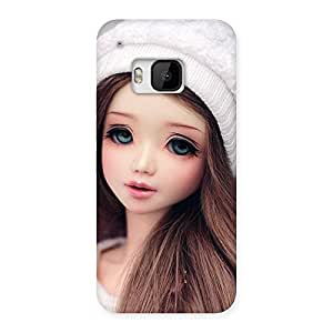 Premium Innocent Angel Doll Multicolor Back Case Cover for HTC One M9