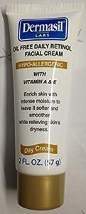 Dermasil Labs Oil Free Daily Retinol Facial Cream 2 Fl Oz.