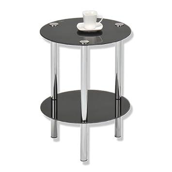 roller beistelltisch gc0106 mit ca 35 cm durchmesse. Black Bedroom Furniture Sets. Home Design Ideas