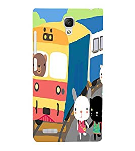 Cartoon Back Case Cover for Xiaomi Redmi Note::Xiaomi Redmi Note 4G