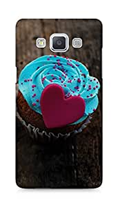 Amez designer printed 3d premium high quality back case cover for Samsung Galaxy A5 (Love Cupcake)