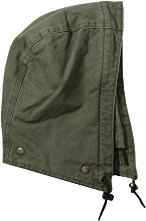 Carhartt Men's Quilt-Lined Sandstone Hood, Army Green, One Size