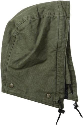 Carhartt Men's Quilt-Lined Sandstone Hood,Army Green,One Size (Carhartt Snap Hood compare prices)