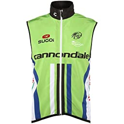 Sugoi Cannondale Pro Team Vest Green X-Large 2014
