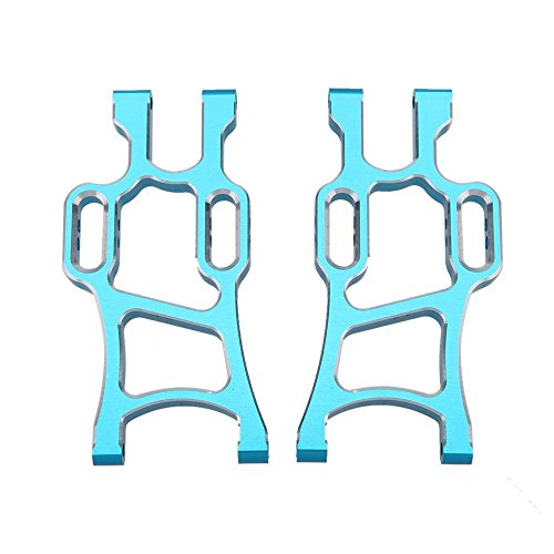 GoolRC 108021 1/10 Upgrade Parts Aluminum Rear Lower Suspension Arm for HSP RC Off Road Monster Truck Car (Hsp Truck compare prices)