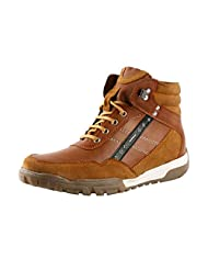 Bacca Bucci Men 8400 Tan Synthetic Boots