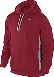 Nike 465784 Knockout Hoody 2.0 Red/Grey - Large