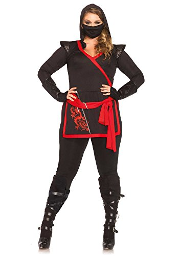 Plus-Size 4 Piece Ninja
