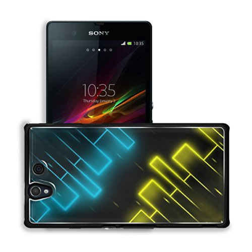 Form Shape Connection Cloudy Pattern Sony Xperia Z 5.0 C6603 C6602 Snap Cover Premium Aluminium Case Customized Made To Order Support Ready 5 4/8 Inch (140Mm) X 2 7/8 Inch (73Mm) X 7/16 Inch (11Mm) Luxlady Sony Xperia Z Cover Professional Xperia_Z Cases T