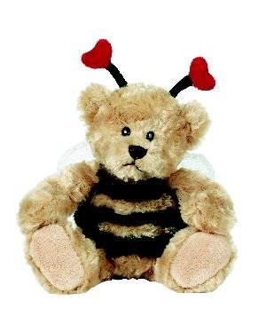 Sweet Bee 8.5in Teddy Bear Plush by Ganz - Buy Sweet Bee 8.5in Teddy Bear Plush by Ganz - Purchase Sweet Bee 8.5in Teddy Bear Plush by Ganz (Ganz, Toys & Games,Categories,Stuffed Animals & Toys,More Stuffed Toys)
