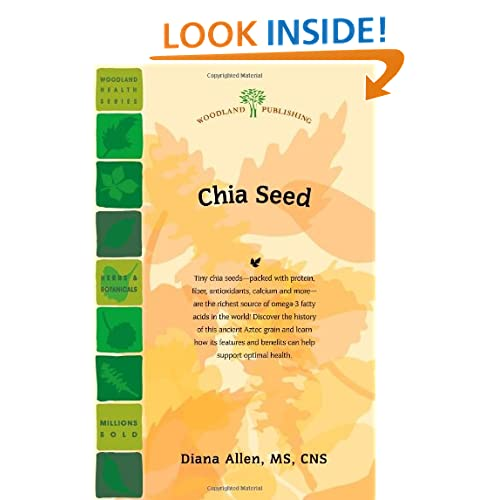 book display on website chia seed woodland health