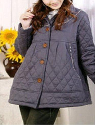 New Stylish Grey Maternity Coat - UK Size 12