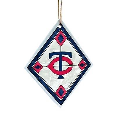 MLB Minnesota Twins Art Glass Ornament