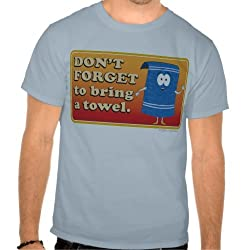 "South Park: Towelie ""Don't Forget to Bring a Towel"" Tee - Mens"