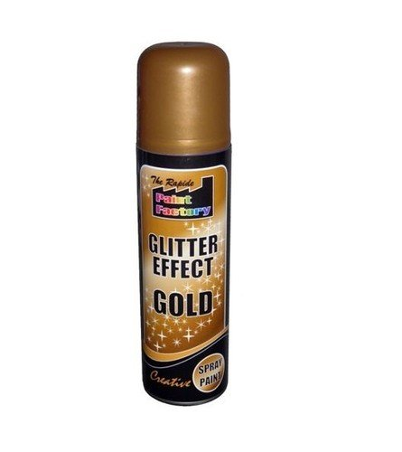 gold-glitter-effect-spray-can-paint-decorative-creative-crafts-art-diy-design