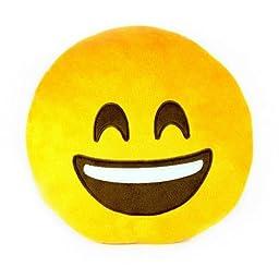 Throwboy The Original Emoji Pillows - Smile