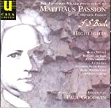 Bach: St Matthew Passion - Arias and Choruses