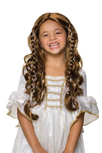 Rubies Child's Fairy Tale Princess Brunette Costume Wig