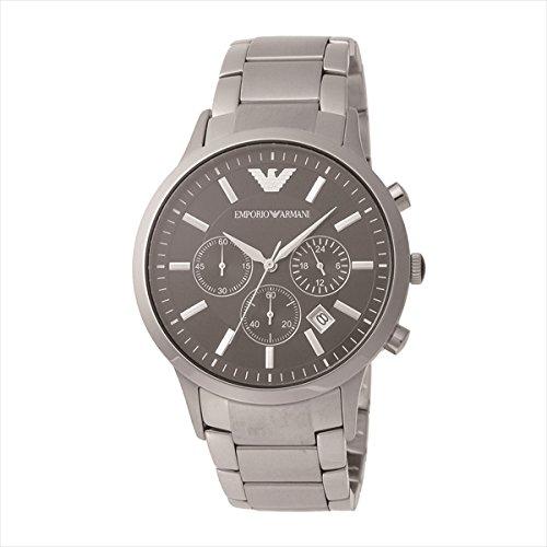 (エンポリオアルマーニ) EMPORIO ARMANI エンポリオアルマーニ 時計 メンズ EMPORIO ARMANI AR2434 クラシック 腕時計 ウォッチ シルバー/ブラック[並行輸入品]