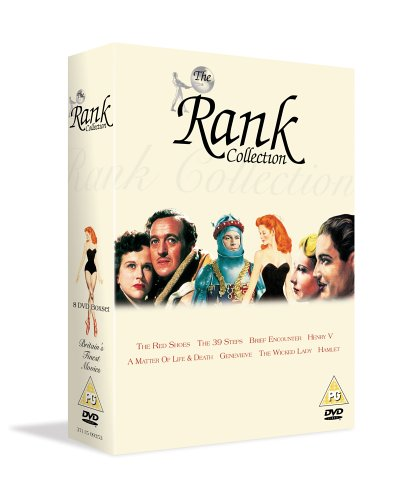 The Rank 70th Anniversary Collection - 8 DVD Box Set (Brief Encounter / The 39 Steps / The Wicked Lady / Genevieve / The Red Shoes / A Matter Of Life And Death / Hamlet / Henry V)