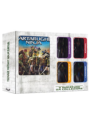 Tartarughe ninja(+BRD+4 action figures) [2 DVDs] [IT Import] [Blu-ray]