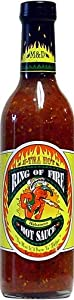 Ring Of Fire X-tra Hot Habanero Hot Sauce 125 Fl Oz by AmericanSpice.com