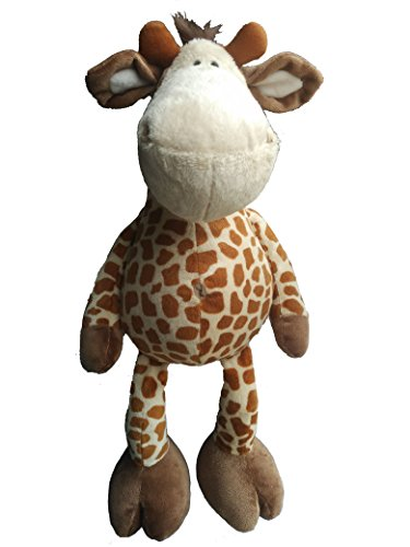 "AWESOME Stuffed Animal Giraffe with Dangling Legs 18"" / 45 cm Bedtime Plush Toy, Baby Kids Doll Gift"
