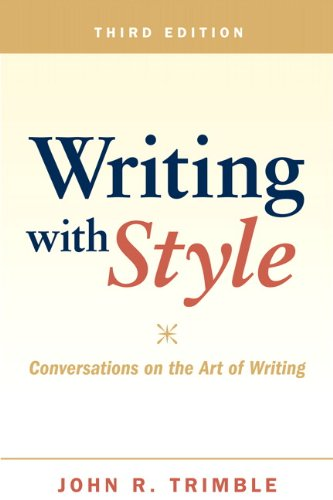 Writing with Style: Conversations on the Art of Writing (3rd Edition) Picture
