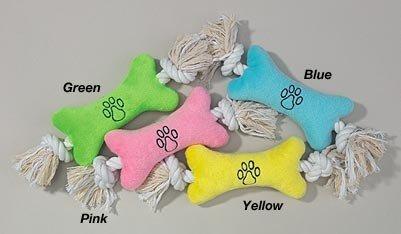 Buy Set of Four Tiny Tuggers Rope N Plush Dog Toy