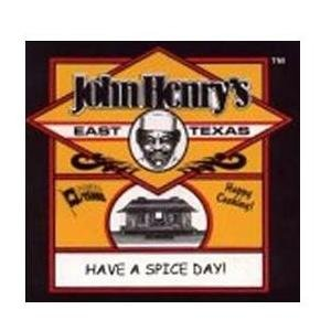 John Henry's East Texas Butter Pecan Rub BBQ Seasoning Spice - 11.5Oz