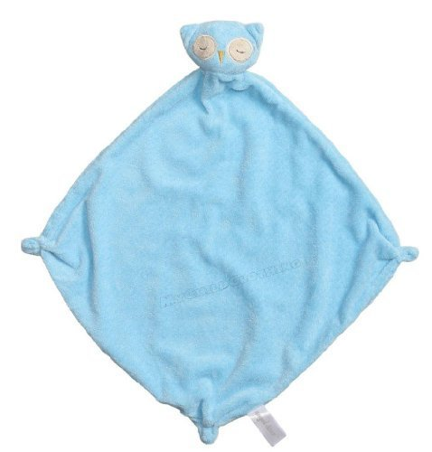 Angel-Dear-Cashmere-Soft-Polyester-Blankie-Blue-Owl-by-Angel-Dear