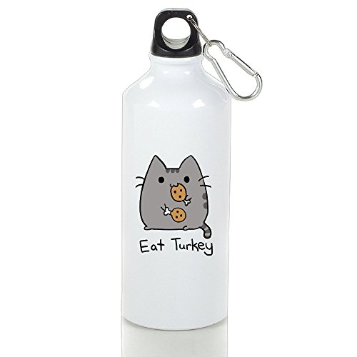 Pusheen Cat Eat Turkey Aluminum Vacuum Insulated Water Bottle White 400ml (Hofmann Hot Dogs compare prices)